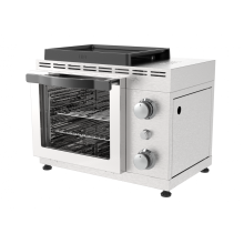 Single Burner Steak & Pizza Maker With Door