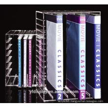 Custom-made Clear Acrylic Book Display Holder