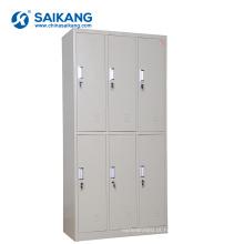 Armário de armazenamento de aço revestido da medicina do metal do hospital da cola Epoxy SKH056
