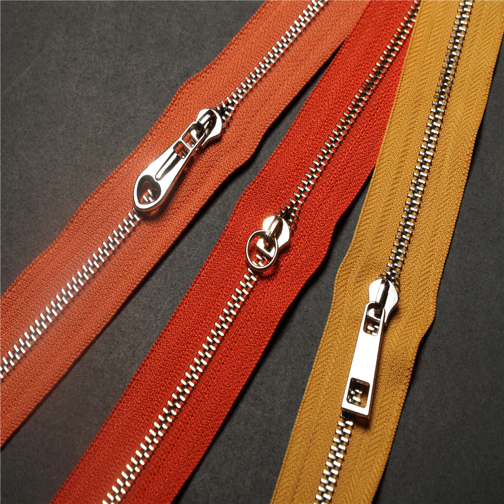 3 Inch Zipper #3 Alloy Slider for Jackets