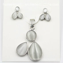 Fashion Costume Stainless Steel Earring Set Jewelry
