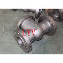 Válvula de retención industrial del API del Sttel del carbono del acero inoxidable hecha por la fábrica profesional