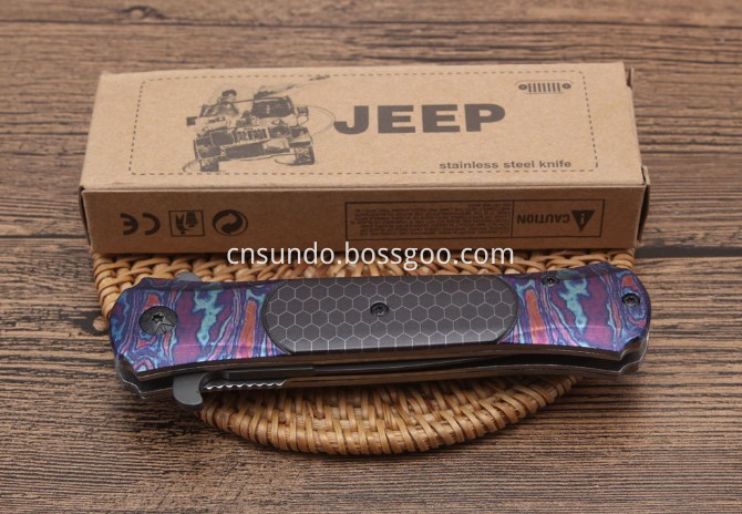 Jeep Folding Knife