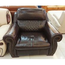 Америка диван, кожаный диван, мебель для дома, сочетание диван (A57)