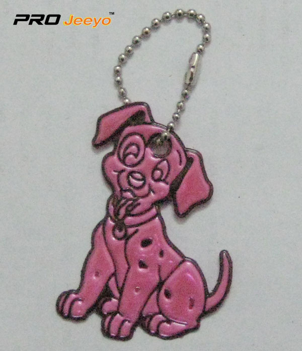 Reflective Pvc Dog Key Chain Rv 214 2
