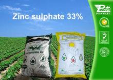 7446-19-7 Zinc Sulphate 33% Granule Chemical Fertilizers An