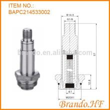 2 vias normalmente fechadas solenóide peças de reposição pistão tubo