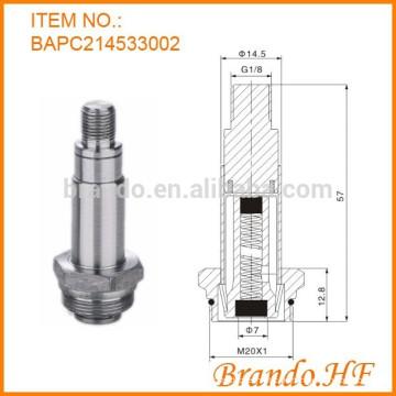 2-Wege-Schließer-Magnet-Ersatzteil-Plunger-Rohr