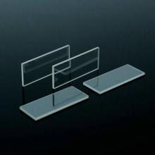 Ventanas de cuarzo de sílice fundida de vidrio óptico redondo cuadrado