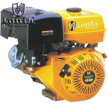 Motor de gasolina portátil de arranque manual de un solo cilindro 13HP