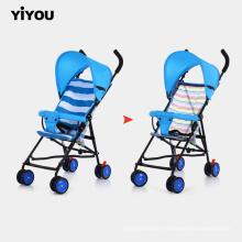Carrinho de bebê recém-nascido de luxo carrinho de bebê infantil dobrável para viagem