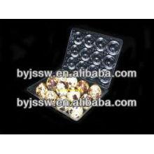 Cajas de plástico de huevo de codorniz