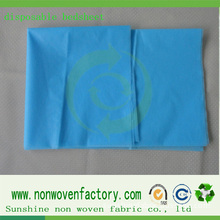 Factory From China Supply Nonwoven Bed Sheet Fabric