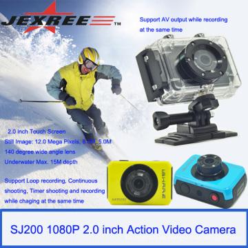 JEXREE SJ200 wasserdichte Digitalkamera Sport-Action-Kamera mit Einzelhandel Paket