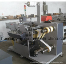 Plain Label Rotary Die Cutting with Slitter