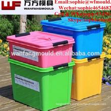 High quality molde de caja de almacenamiento 2017 molde contenedor de almacenamiento