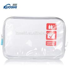 sac d'emballage de couverture de PVC de haute qualité avec la tirette