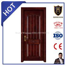 Puerta de entrada de madera maciza estilo europeo