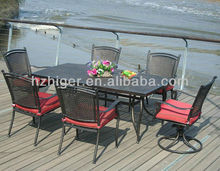 welding chinese tea Many people Iron tables and chairs Furniture