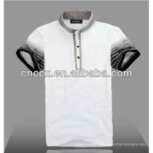13PT1012 Últimas camisas de polo de moda para homens