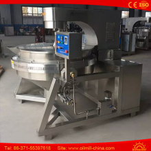 Round Shape Industrial Hot Air Popcorn Machine Big Popcorn Machine