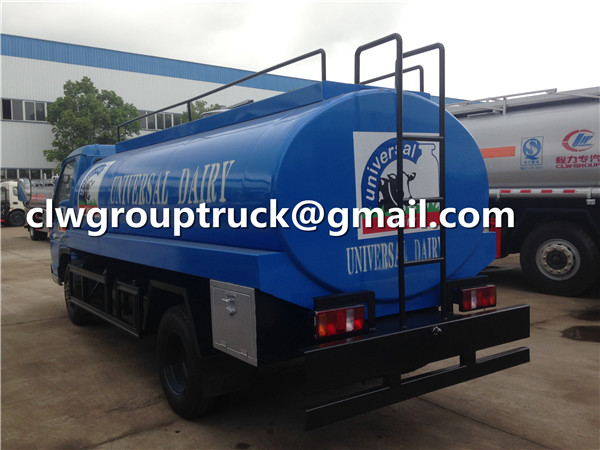 Milk Transport Tank Truck
