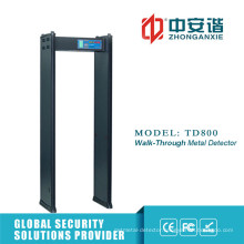 Bus Station Security Metal Detector 20 Securty Level Metal Detector Gate