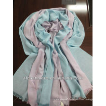 silk and cotton worsted woven scarf