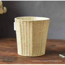 (BC-RB1004) Hot-Sale Handmade Paper Rope Basket