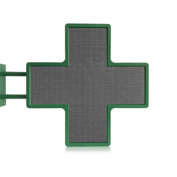 Display a LED per farmacia Double Side Cross