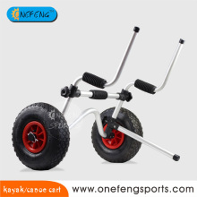 Practical kayak cart