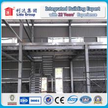 Almacén de acero prefabricado del proyecto de alta calidad de África / fábrica / cobertizo
