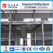Entrepôt préfabriqué en métal de cadre de structure métallique / atelier / hangar en métal