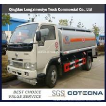 Caminhão-tanque de óleo 6000L Dongfeng Cummins 4 X 2