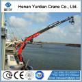 Knuckle Telescopic Boom Ship Crane