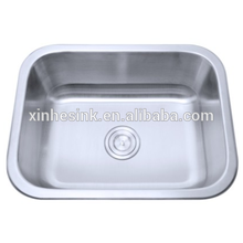 304 undermount single bowl stainless steel hospital sink