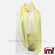 Chaleco de la bufanda de la cachemira de Ombre de las señoras
