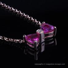 Ping CZ Setting Beautiful Pendant Fashion Jewelry