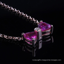 Ping CZ Setting Beautiful Pendant Fashion Jewelry