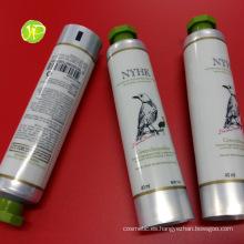 Mano tubos crema cosmética tubos de aluminio y envases de plástico tubos tubos de Pbl de Abl