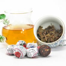 Ripe Mini Pu'er Puer Pu erh Tea Rose Flavor Tuocha Yunnan Original Pu Erh Tea Slimming Tea