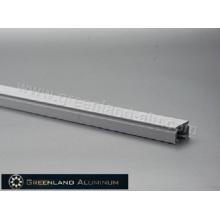 Cortina deslizante de perfil de alumínio
