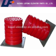 passenger elevator shaft pu oil buffer