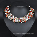 2017 Schmuck Halskette, 14 Karat Gold überzogene amerikanische Diamant Halskette, Quaste Halskette