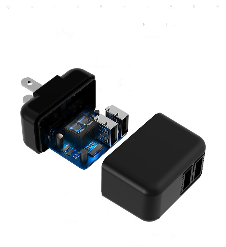 2 port quick charger