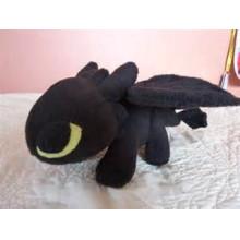 Dragón desdentado gigante negro