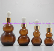 New Design Amber Essential Oil Bottles With Droppers