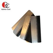 Connecteurs de conduits en caoutchouc HVAC flexibles en acier galvanisé