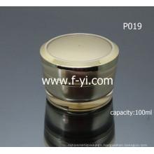 Empty Custom Round Acrylic Cream Jar