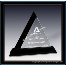 "Placas Crystal Triangle Award 9 ""H (NU-CW706)"